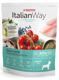 Italian Way Trout & Blueberries Hypoallergenic Mini Adult 800gr