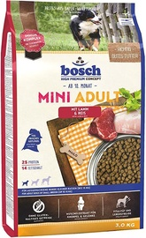 Bosch PetFood Mini Adult Dry Food w/ Lamb & Rice 3kg