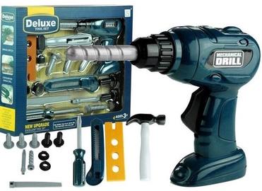 Lomu spēle (virtuve, ārsta komplekti, spēļu teltis utt.) Drill Deluxe Tool Set