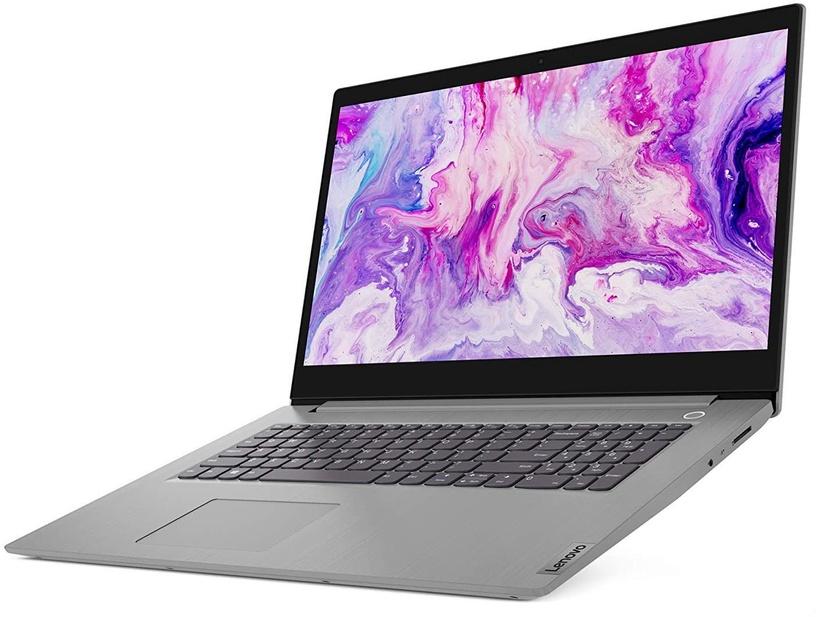 "Nešiojamas kompiuteris Lenovo IdeaPad 3-17ADA Platinum Gray 81W2002DPB AMD Ryzen 3, 4GB/256GB, 17.3"""