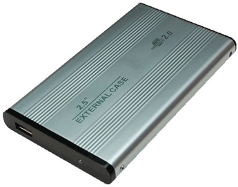 "Logilink UA0040A 2.5"" IDE HDD Enclosure Silver"