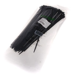 Haupa Cable Tie 4.8x250 Black
