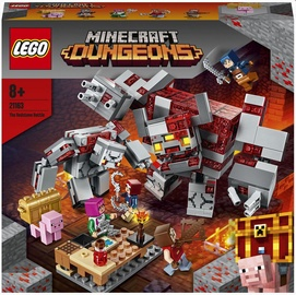 Конструктор LEGO Minecraft Битва за красную пыль 21163, 504 шт.