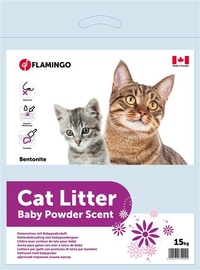 Karlie Flamingo Cat Litter Baby Powder 15kg