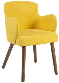 Home4you Armchair Eleanor 2pcs Yellow