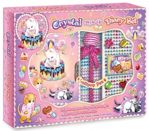 Pulio Pecoware Crystal Style Up Diary Set 191SK Cat