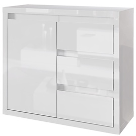Tuckano Glance Chest Of Drawers 910x780x400mm White
