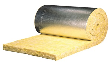 Stiklo vatos demblys su aliuminio folija, Isover, KIM-AL-50, 5x120x700