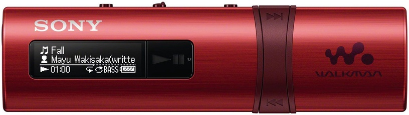 Музыкальный проигрыватель Sony NWZ-B183/R Red, 4 ГБ