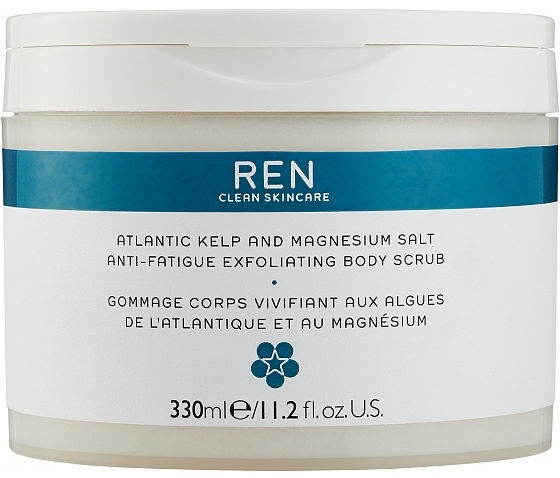 Скраб для тела Ren Atlantic Kelp And Magnesium Salt Anti Fatigue Exfoliating, 330 мл