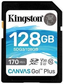 Kingston Canvas Go! Plus 128GB SDXC UHS-I Class 10