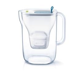 Vandens filtras Brita Style, 2.4 l, melsvas