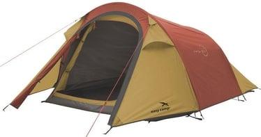 Trīsvietīga telts Easy Camp Energy 200 120352, sarkana