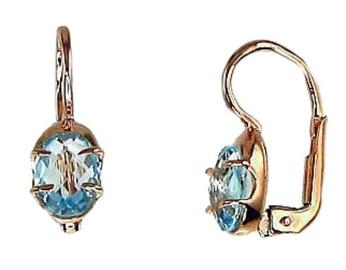 Diamond Sky Gold Earrings Malori XXII