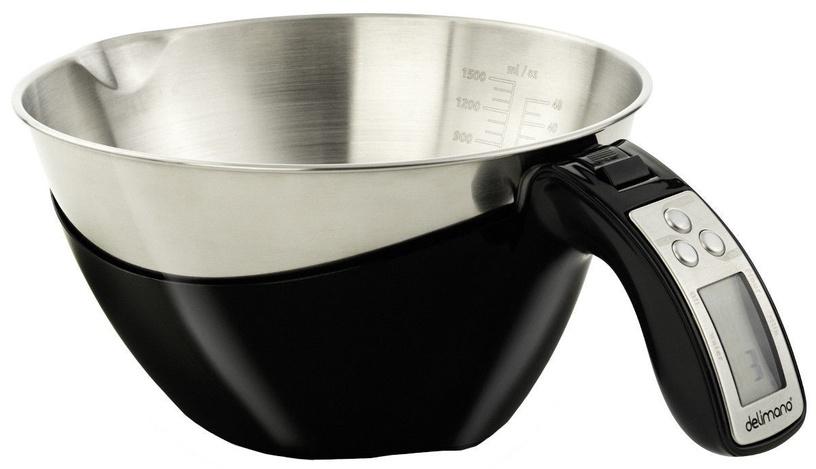 Delimano Astoria Kitchen Scale Black
