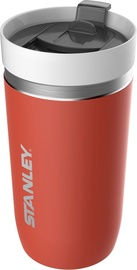 Stanley Go Series Ceramivac Vacuum Mug 0.47l Light Red