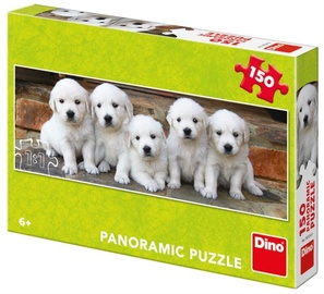 Puzle Dino Panoramic Puppy, 150 gab.