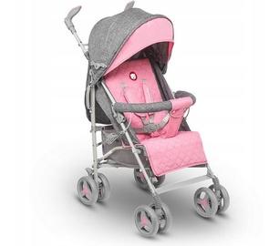 Спортивная коляска Lionelo Irma, розовый/серый