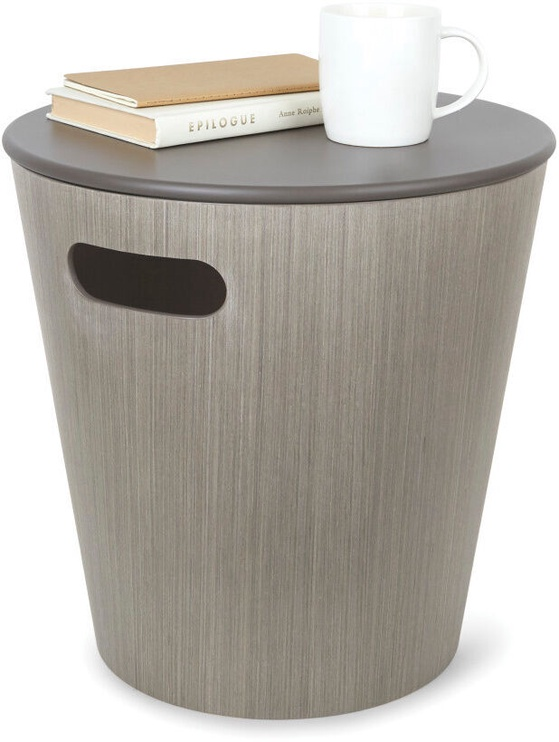 Kafijas galdiņš Umbra Woodrow, pelēka, 400x400x410 mm