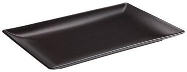 Viejo Valle Ming II Plate 25 x 15cm Black Matt
