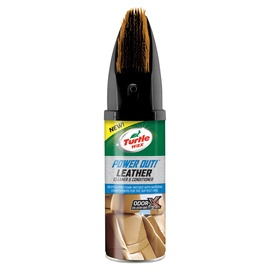 Turtle Wax Power Out Leather Cleaner with Brush 400ml
