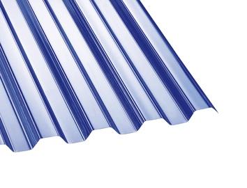 Laineplaat polükarbonaat kirgas Trapets76/18 1,045x2m