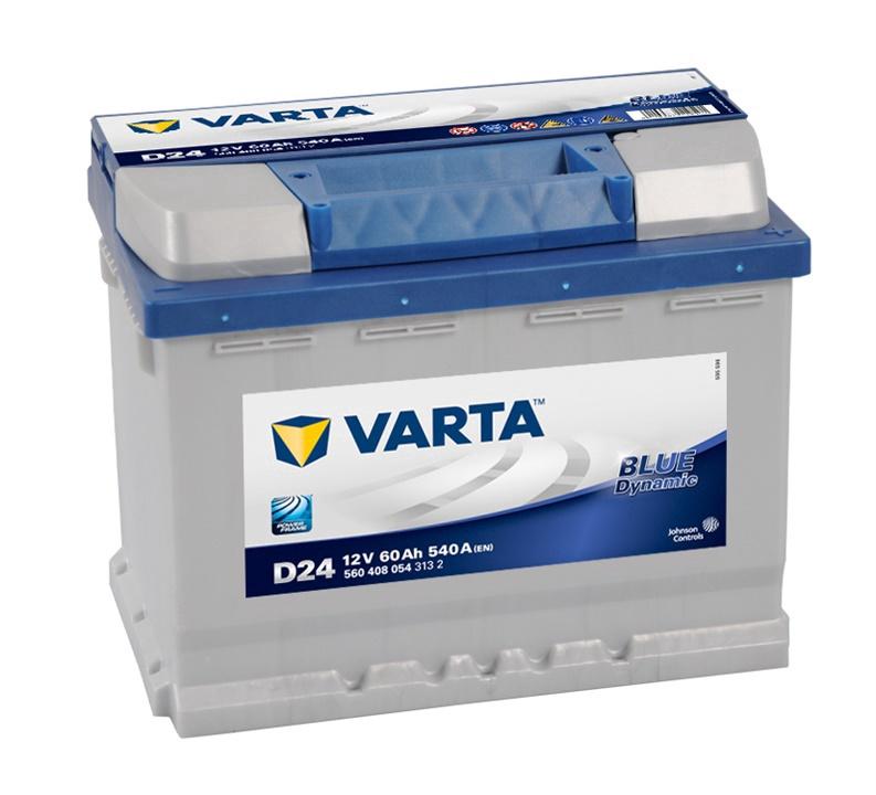 Akumulators Varta BD D24, 60 Ah, 540 A, 12 V