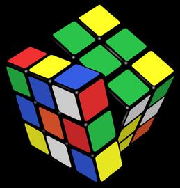 Rotaļlieta Kubiks Rubiks 6x6x6cm