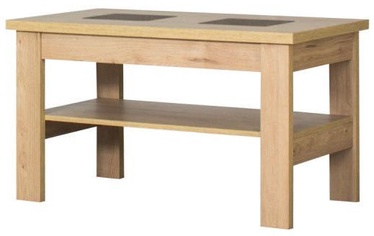 Kafijas galdiņš Bodzio S28 Dark Sonoma Oak, 1000x600x590 mm