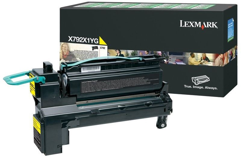 Lazerinio spausdintuvo kasetė Lexmark C792X1YG Yellow