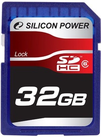 Silicon Power 32GB SDHC Card Class 6