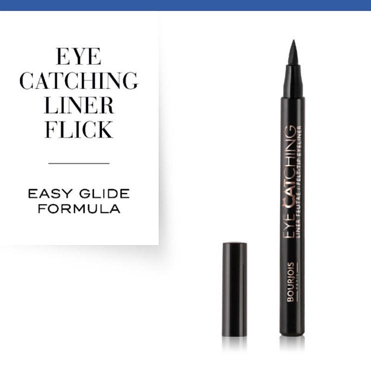 Bourjois Paris Eye Catching Eyeliner 1.56ml Black