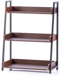 Homede Trax Rack Espresso 67x32x89cm