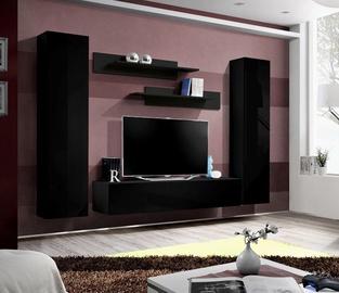 Dzīvojamās istabas mēbeļu komplekts ASM Fly A1 Black