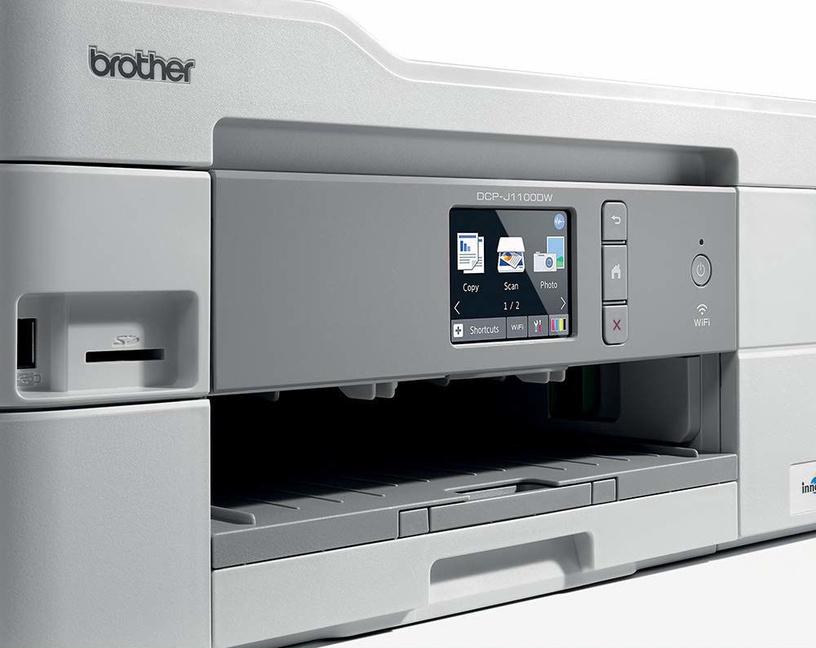 Многофункциональный принтер Brother DCP-J1100DW, струйный, цветной