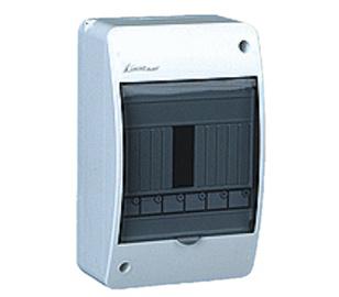 Virštinkinė automatinių jungiklių dėžutė Elektroplast, 6 modulių