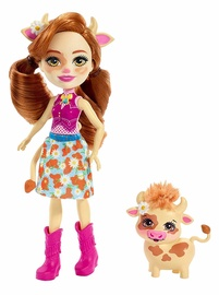 Mattel Enchantimals Cailey Cow Doll FXM77