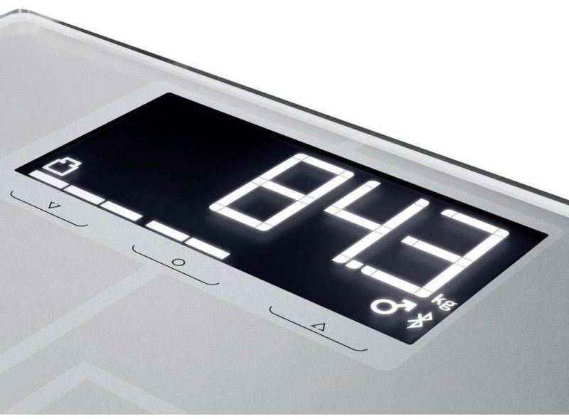 Kūno svarstyklės Soehnle Shape Sense Connect 200 Silver