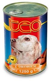 Suņu barība Teo ar liellopa gaļu 1250g