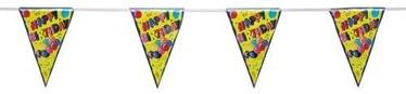Pap Star Happy Birthday Flags Garland 4m