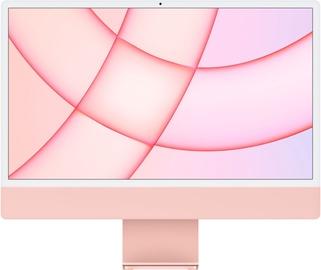 """Stacionarus kompiuteris Apple iMac / MGPN3ZE/A / 24"""" Retina 4.5K / M1 8-Core GPU / 8GB RAM / 512GB Pink LT"""