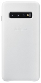 Samsung Leather Cover For Samsung Galaxy S10 White