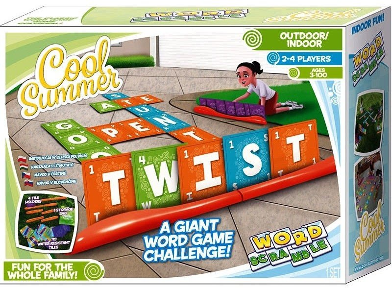 Tm Toys Cool Summer Word Scramble