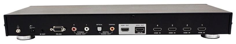 Aten 4 x 2-Port HDMI Switch Black