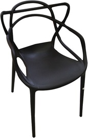 Verners Bordo Chair 560x830x525mm Black