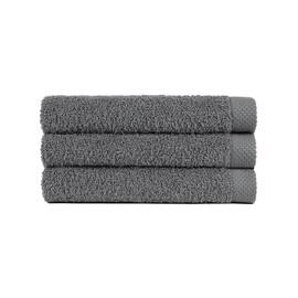Rankšluostis Lasa Pure Gris Dark Grey, 70x140 cm, 1 vnt.