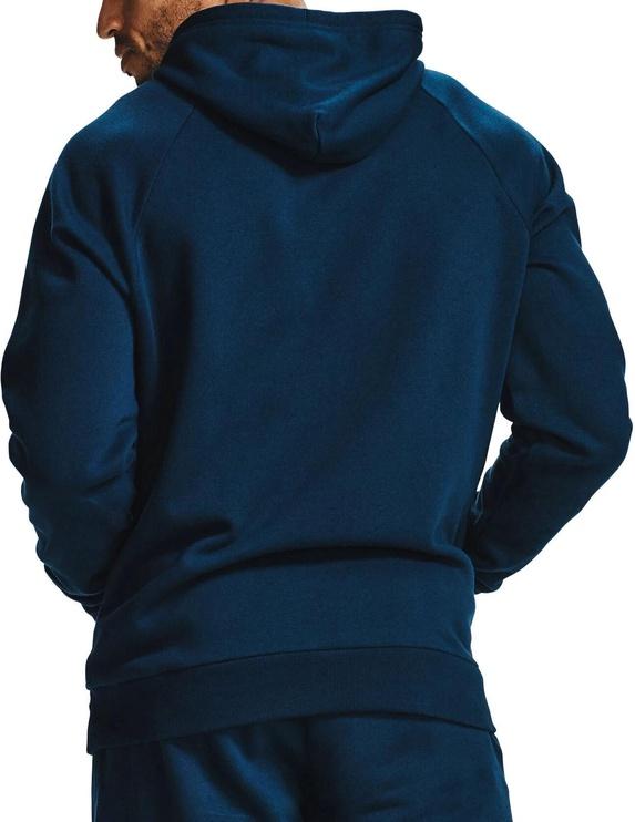 Джемпер Under Armour Mens Rival Fleece Hoodie 1357092-408 Blue 2XL
