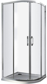 Dušikabiin Vento Tivoli, aluseta, 800x800x1850 mm