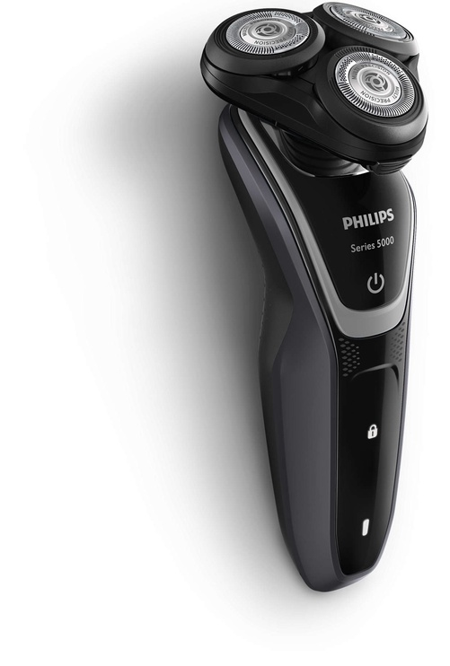 Skuveklis Philips Shaver S5110/06, akumulatora, ar trimmeri