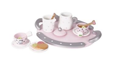 Žaislinis arbatos servizas 50508 medinis